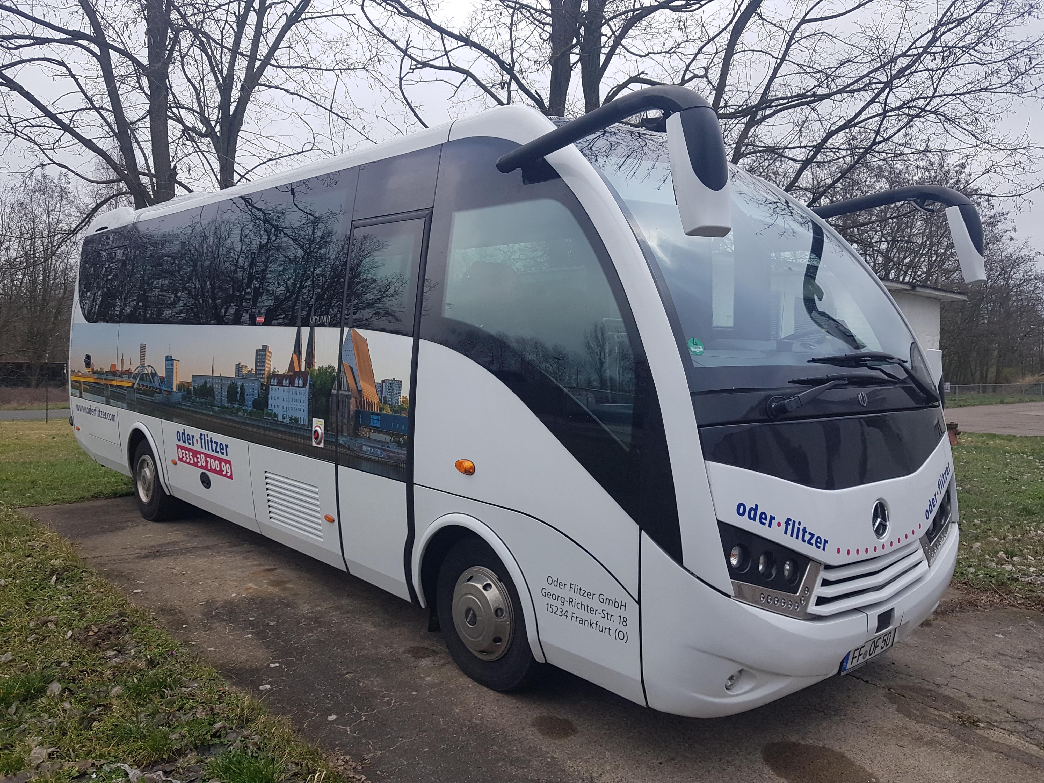 Midibus des Oder Flitzer wieder unterwegs
